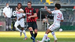 Eintracht Frankfurt und die AS Monaco trennten sich Remis