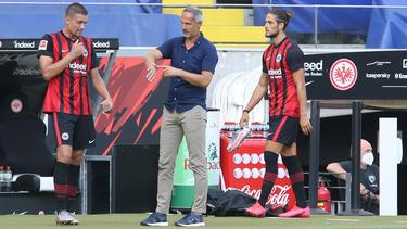 Eintracht Frankfurt verlor das Hinspiel gegen Basel deutlich