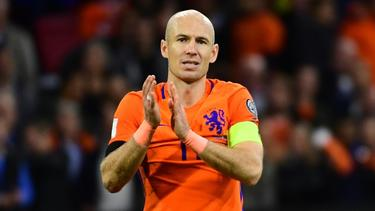 Comeback nicht ausgeschlossen: Arjen Robben