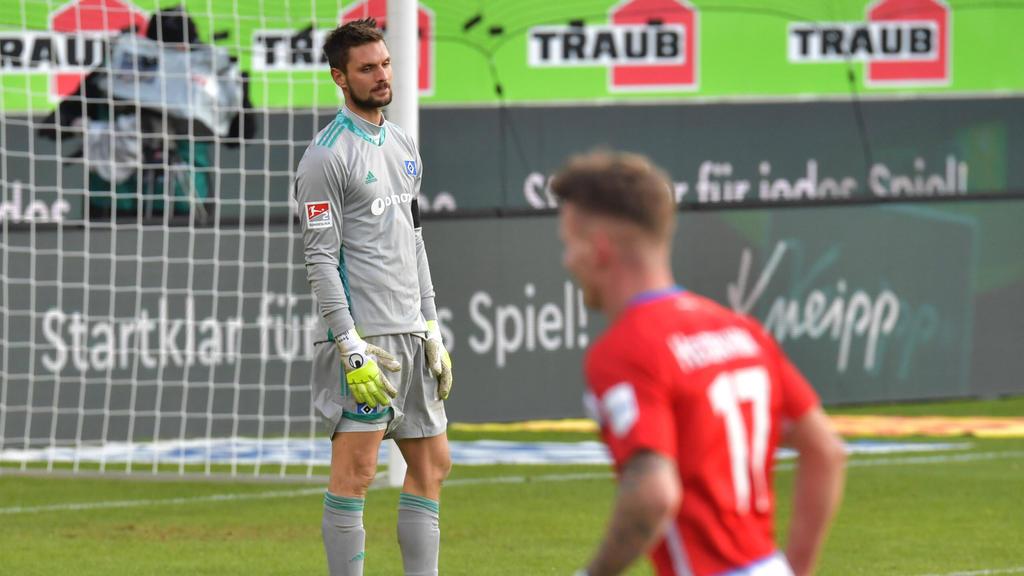 Machte gegen Heidenheim eine unglückliche Figur: HSV-Keeper Sven Ulreich