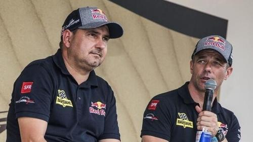 """Das """"Traumpaar"""" Daniel Elena (l.) und Sébastien Loeb (r.) hat sich getrennt"""