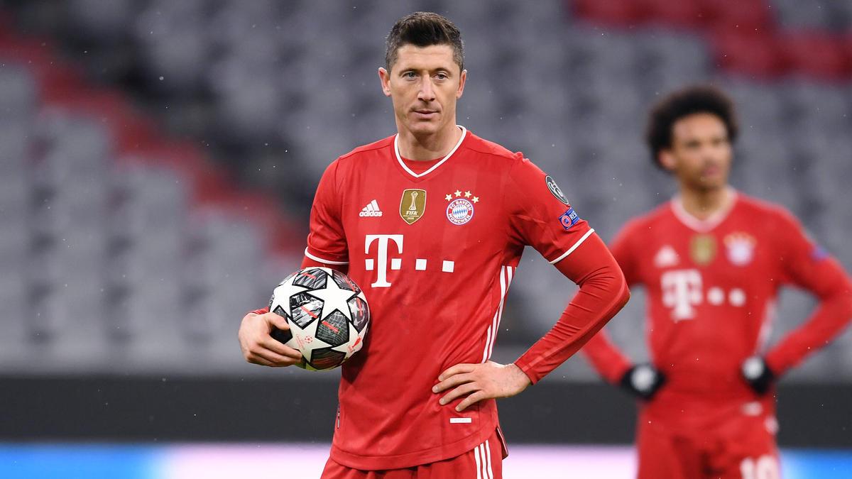 Robert Lewandowski spielt seit 2014 beim FC Bayern