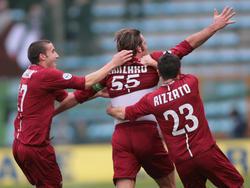 Serie B 2009/2010: Reggina Calcio v. AC Cesena