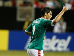 Raúl Jiménez im Mexiko-Trikot