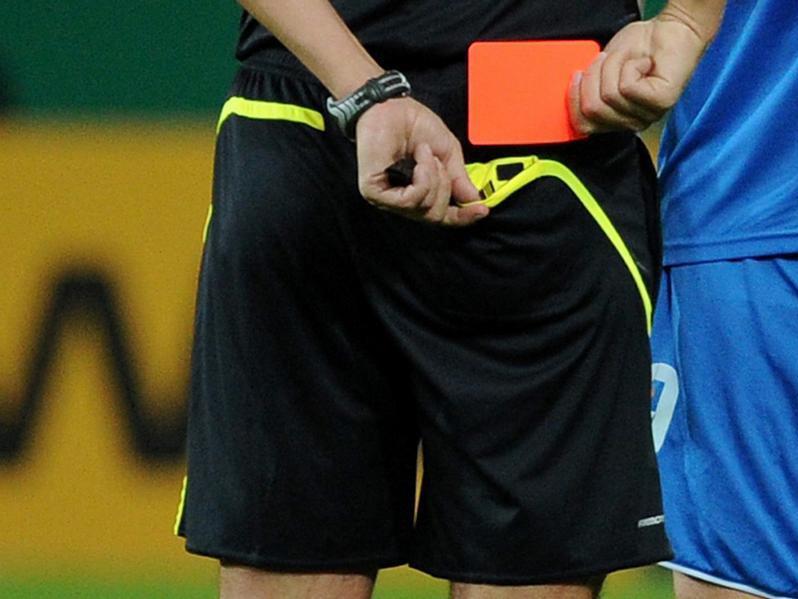 Abseits Und Rote Karten Fussball Regeln Sind Heilig