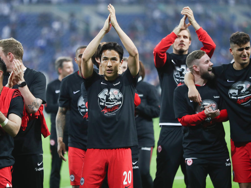 Nach dem Finaleinzug im DFB-Pokal kann die Eintracht international planen