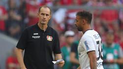 Leverkusens Trainer Heiko Herrlich steht nach dem Fehlstart seines Teams in der Kritik