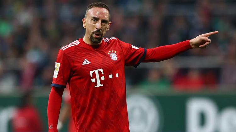 Franck Ribéry weiß nicht, ob er noch eine Saison in München dranhängt