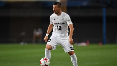 Zum Saisonauftakt hat Lukas Podolski mit Vissel Kobe eine Niederlage kassiert