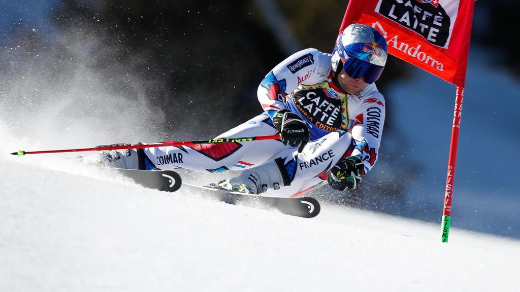 Alexis Pinturault überzeugte in Andorra
