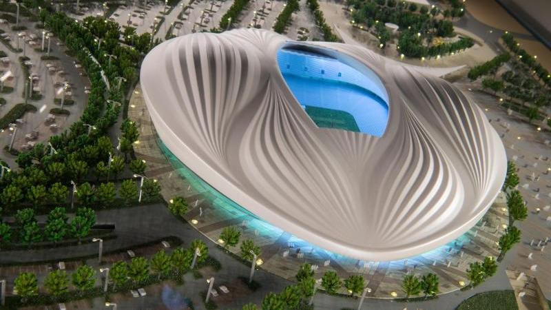 Wird neu eröffnet: Das Al Wakrah Stadion in Doha