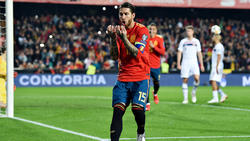 Sergio Ramos anotó un tanto fuera de casa.