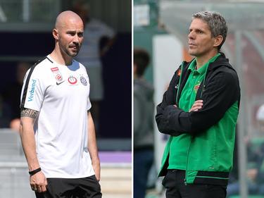 Christian Ilzer und Dietmar Kühbauer bereiten ihre Teams auf die neue Saison vor