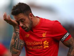 Danny Ings wird beim FC Liverpool lange ausfallen