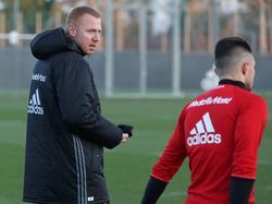 Maik Walpurgis (l.) hofft auf die Überraschung gegen den FC Bayern München