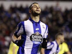 Florin Andone läuft derzeit für Deportivo La Coruña auf