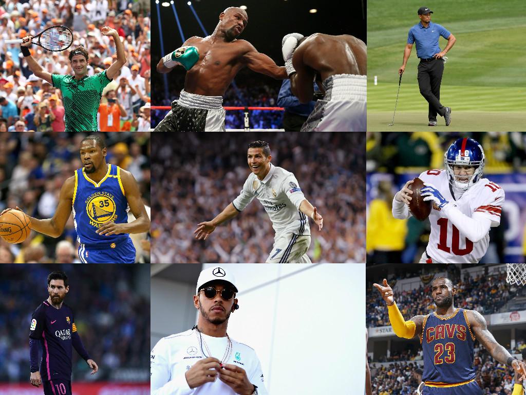 reichste sportler 2018