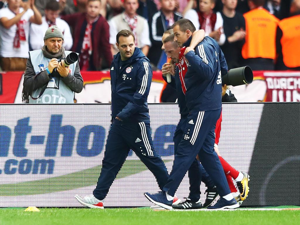 Franck Ribéry erlitt eine Verletzung gegen Hertha BSC