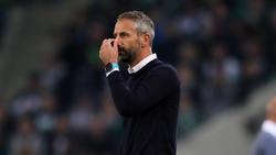 Der Mönchengladbacher Trainer Marco Rose sieht bei seinem Team noch Luft nach oben
