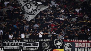Die Fans von Eintracht Frankfurt sind in Lüttich nicht erwünscht