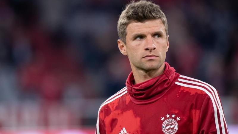 Thomas Müller durfte gegen Augsburg erneut nicht von Beginn an ran
