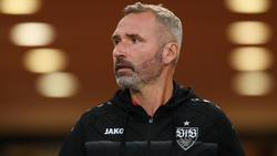 VfB-Coach Tim Walter hat zuletzt drei Spiele nacheinander verloren