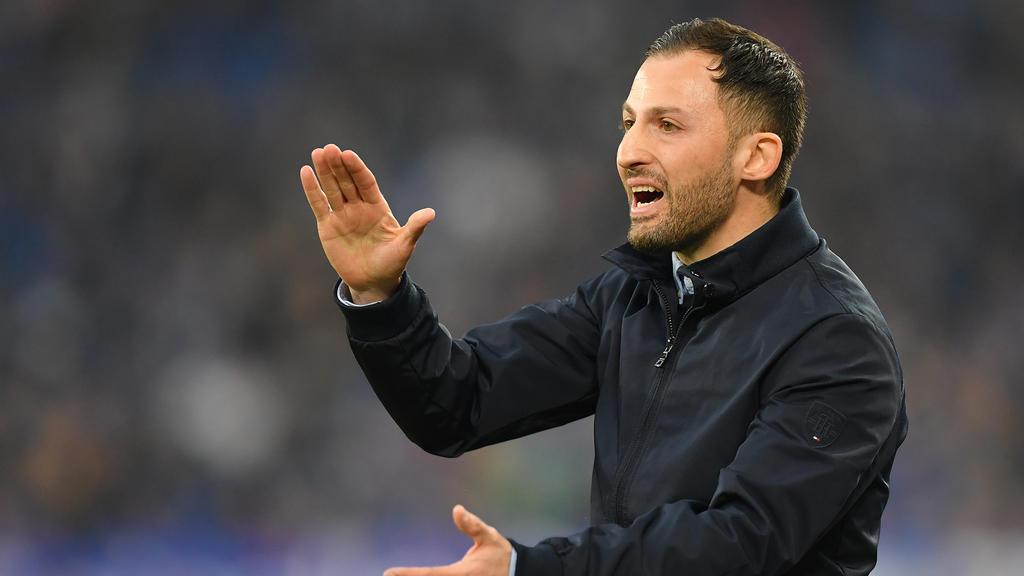 Domenico Tedesco trainierte bis März den FC Schalke 04