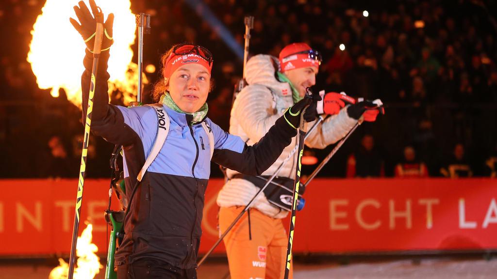 Laura Dahlmeier wird bei ihrem letzten Rennen Vierte