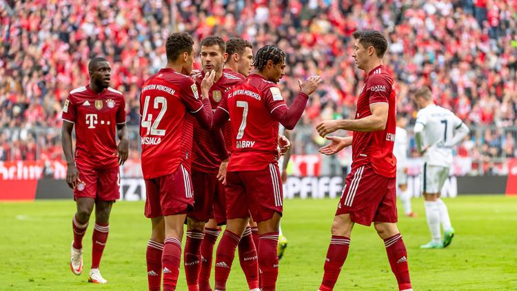 Der FC Bayern siegte gegen Hoffenheim deutlich