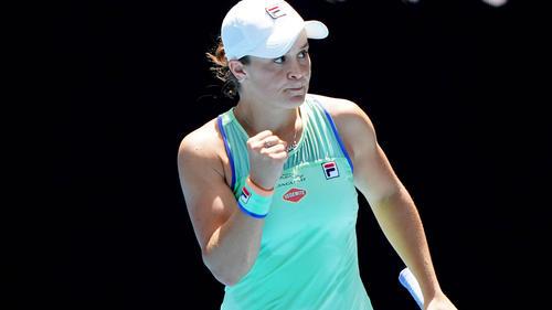Ashleigh Barty ist zurück aus ihrer Tennis-Pause