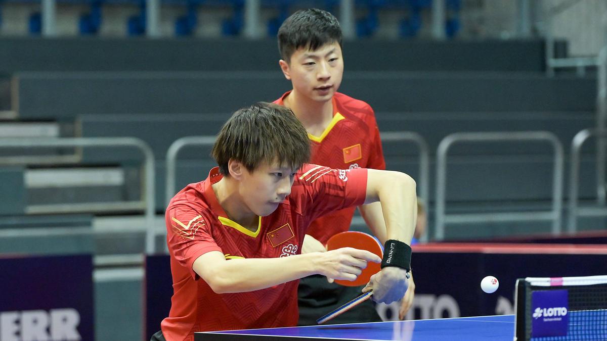 Die chinesischen Spieler sind aktuell in Magdeburg im Einsatz