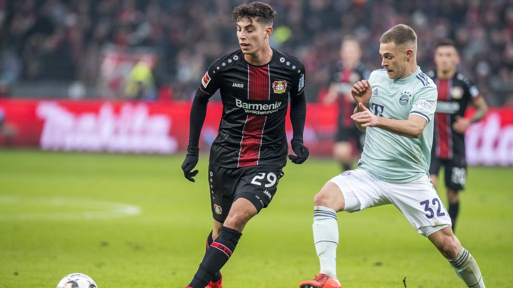 Kai Havertz steht gegen den FC Bayern mal wieder im Blickpunkt