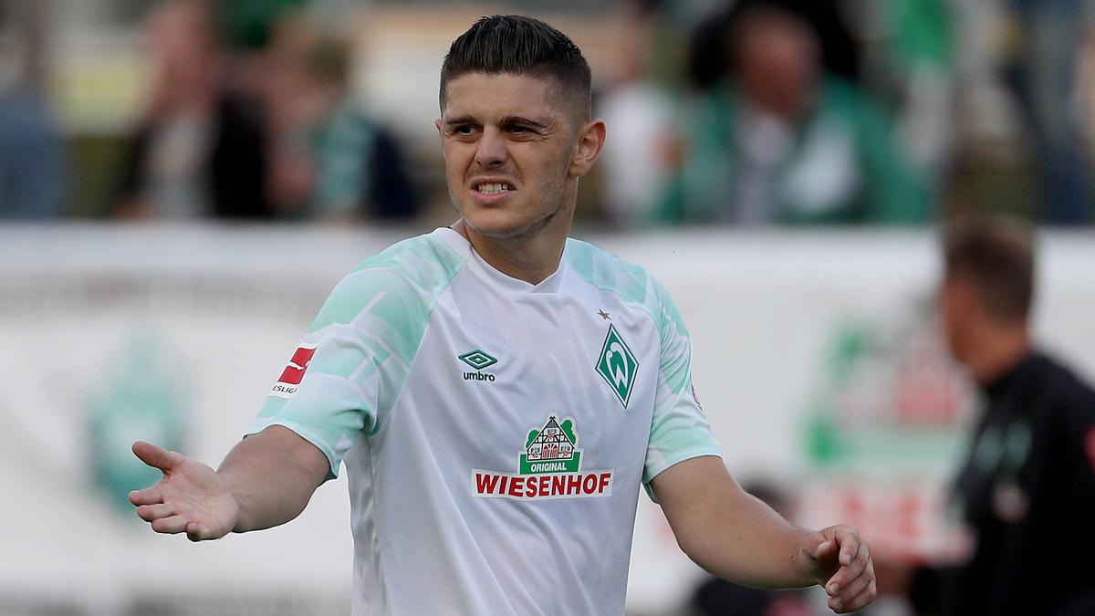 Fällt im DFB-Pokal für Werder gegen den FC Carl Zeiss Jena aus: Milot Rashica