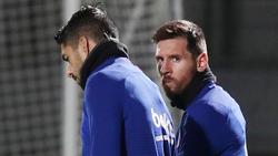Lionel Messi (r.) ist auf die Barca-Bosse nicht gut zu sprechen