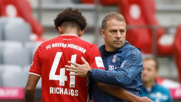 Chris Richards steht gegen Atlético im Kader des FC Bayern