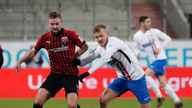 Der FCI siegte knapp gegen Hansa Rostock
