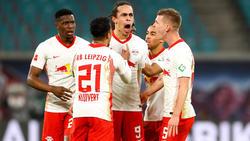 RB Leipzig setzte sich gegen Gladbach durch