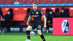 Florian Wirtz steht Bayer Leverkusen wieder zur Verfügung