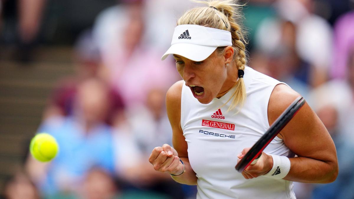 Angelique Kerber steht im Wimbledon-Halbfinale