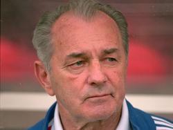 Vujadin Boškov als Coach der jugoslawischen Nationalmannschaft bei der EM 2000