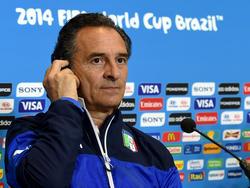 Cesare Prandelli, c.t. dimissionario dell'Italia