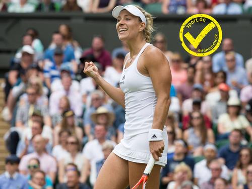 Angelique Kerber spielt die erfolgreichste Saison ihrer Laufbahn