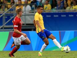 Olympia: Brasilien schrubbt Dänemark