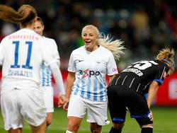 Die Frauen des FC Zürich durften in Graz jubeln