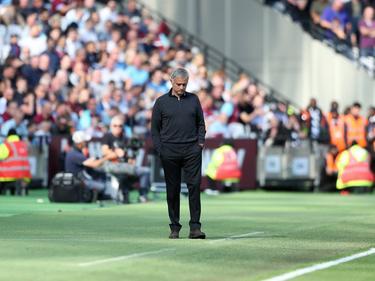 Mourinho lleva tres partidos sin ganar con el United. (Foto: Getty)