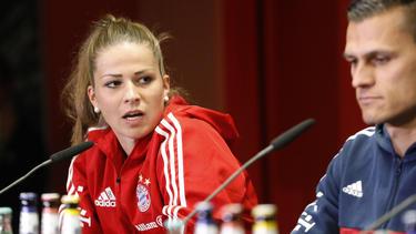 Melanie Leupolz verlängert beim FC Bayern