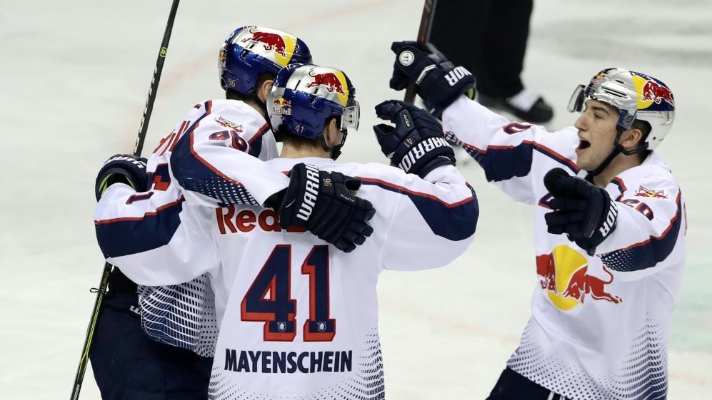Der EHC München feierte einen wichtigen Sieg