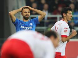 Lukas Hinterseer konnte die Bochum-Niederlage nicht verhindern. © Getty Images/Bongarts/A. Hassenstein