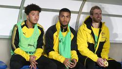 Jadon Sancho (l.) soll beim BVB bleiben, André Schürrle (r.) hat wohl keine Zukunft mehr bei der Borussia