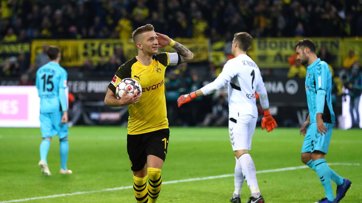 BVB zu Gast beim SC Freiburg: Das sind die voraussichtlichen Aufstellungen